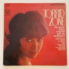 Discos de vinilo: CHICO O'FARRILL AND HIS ORCHESTRA – TORRID ZONE USA 1969 COLUMBIA. Lote 217640063