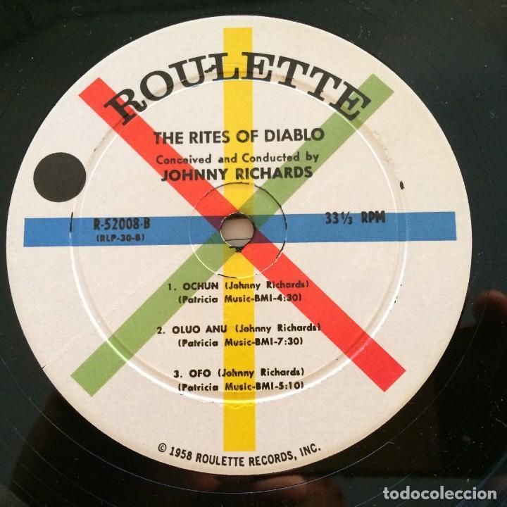 Discos de vinilo: Johnny Richards – The Rites Of Diablo USA 1958 Roulette - Foto 4 - 217641597