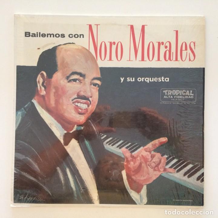 NORO MORALES & HIS ORCHESTRA – BAILEMOS CON NORO MORALES Y SU ORQUESTA USA TROPICAL (Música - Discos - LP Vinilo - Grupos y Solistas de latinoamérica)