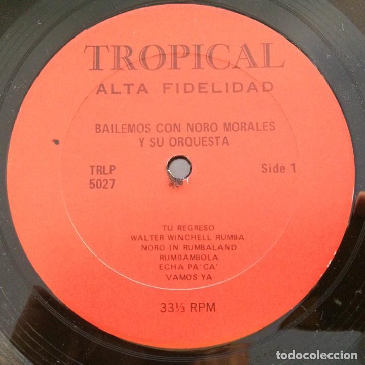 Discos de vinilo: Noro Morales & His Orchestra – Bailemos Con Noro Morales Y Su Orquesta USA Tropical - Foto 3 - 217642147
