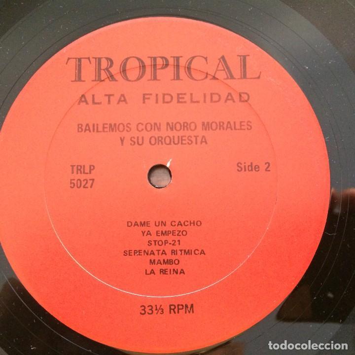 Discos de vinilo: Noro Morales & His Orchestra – Bailemos Con Noro Morales Y Su Orquesta USA Tropical - Foto 4 - 217642147