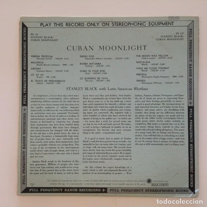 Discos de vinilo: Stanley Black – Cuban Moonlight USA London Records - Foto 2 - 217643455