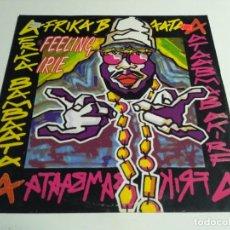 Disques de vinyle: AFRIKA BAMBAATAA - FEELING IRIE. Lote 217646788