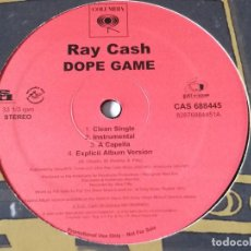 Discos de vinilo: RAY CASH - DOPE GAME / SHE A G - 2006. Lote 217656312