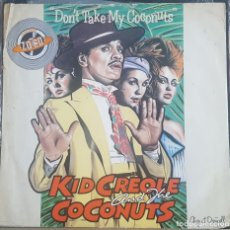 Discos de vinilo: MAXI / KID CREOLE AND THE COCONUTS ?– DON'T TAKE MY COCONUTS, ISLAND RECORDS ?– 12 IS 190,INGLATERRA. Lote 217663095