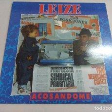 Discos de vinilo: VINILO METAL/LEIZE/ACOSANDOME.. Lote 217664818