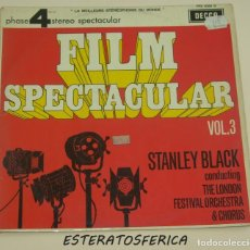 Discos de vinilo: FILM SPECTACULAR VOL. 3 - STANLEY BLACK - DECCA FRANCE 1966. Lote 217665071