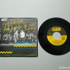 Disques de vinyle: 0920- GALICIA GRAN CARALLO DE SAL OS CANTORES DO SIL (HIMNO GALEGO) SINIESTRO TOTAL VER DESCRIPCION. Lote 217677661
