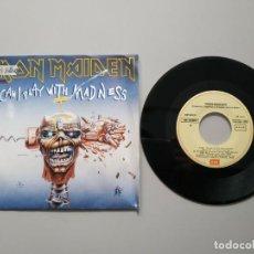 Discos de vinilo: 0920- IRON MAIDEN BLACK BART BLUES ES 1988 SINGLE VIN 7 P VG DIS NM. Lote 217680161