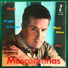 Discos de vinil: MASCARENHAS - MUNDO + EL TREBOL DE LA SUERTE + MARIA...-EP ZAFIRO DE 1963 RF-4499 , BUEN ESTADO. Lote 217680167