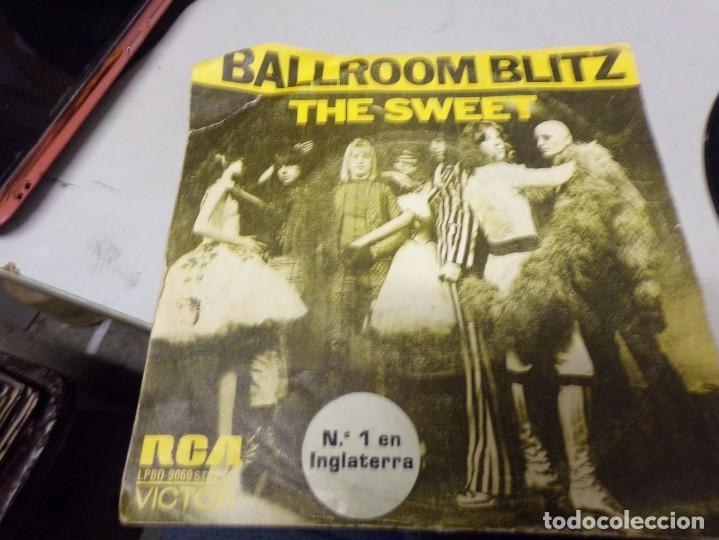 THE SWEET - BALLROOM BLITZ. NUMERO 1 EN INGLATERRA (Música - Discos de Vinilo - Maxi Singles - Pop - Rock Extranjero de los 50 y 60)