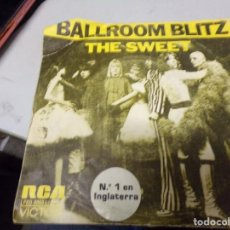 Discos de vinilo: THE SWEET - BALLROOM BLITZ. NUMERO 1 EN INGLATERRA. Lote 217685987