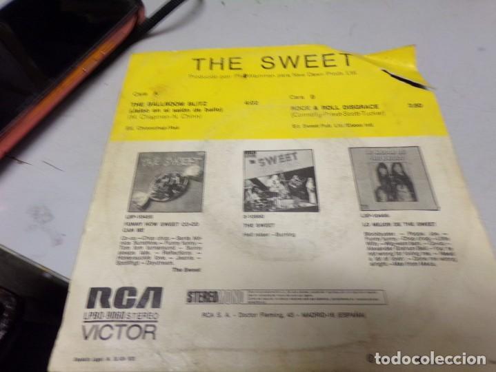 Discos de vinilo: The Sweet - ballroom blitz. numero 1 en inglaterra - Foto 3 - 217685987
