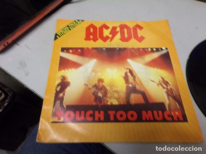 AC DC - TOUCH TOO MUCH (Música - Discos de Vinilo - Maxi Singles - Heavy - Metal)