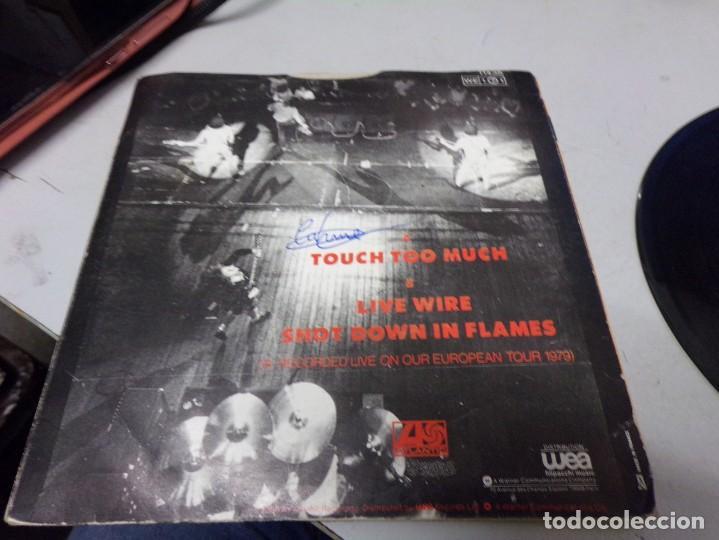 Discos de vinilo: AC DC - touch too much - Foto 3 - 217686718