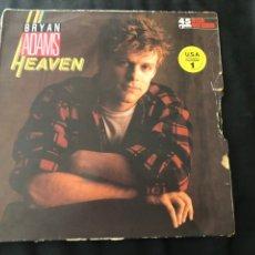 Discos de vinilo: BRYAN ADAMS – HEAVEN. Lote 217687695