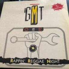 Discos de vinilo: G.M.T. ONE – REGGAE NIGHT MEDLEY BLANCO Y NEGRO. Lote 217689597