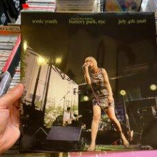 Discos de vinilo: SONIC YOUTH LIVE BATTERY PARK NY LP DISCO DE VINILO. Lote 217690641