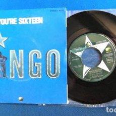 Discos de vinilo: BEATLES RINGO STARR SINGLE EMI ODEON ESPAÑA BATERIA SIN USO MINT CONDITION. Lote 217703176