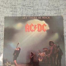 """Discos de vinilo: AC/DC """" LET THERE BE ROCK """".EDICIÓN ESPAÑOLA. Lote 217705215"""