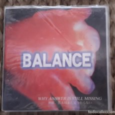 Discos de vinilo: EP BALANCE: WHY ANSWER IS STILL MISSING 1999. Lote 217709755