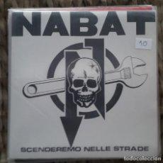 Discos de vinilo: EP NABAT: SCENDEREMO NELLE STRADE 2010. Lote 217710126