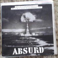 Discos de vinilo: EP ABSURD: BLODIG STAD. Lote 217710191