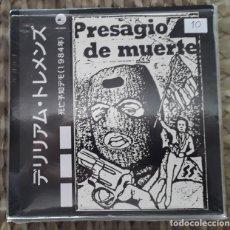 Discos de vinilo: EP DELIRIUM TREMENS: PRESAGIO DE MUERTE (OBI) 2008. Lote 217710380