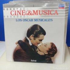 Discos de vinilo: COLECCION COMPLETA 60 LP DISCO DE VINILO DIFERENTES CINE Y MUSICA ED SALVAT. Lote 217716201
