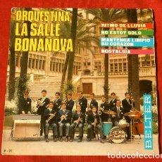 Discos de vinilo: ORQUESTINA LA SALLE BONANOVA (EP 1967) COLEGIO LA SALLE DE BACELONA - RITMO DE LLUVIA - NOSTALGIA. Lote 217721491