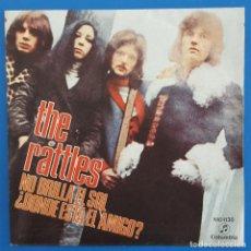 Discos de vinilo: SINGLE / THE RATTLES ?– NO BRILLA EL SOL (YOU CAN'T HAVE SUNSHINE EVERYDAY), COLUMBIA ?– MO 1130,. Lote 217723882