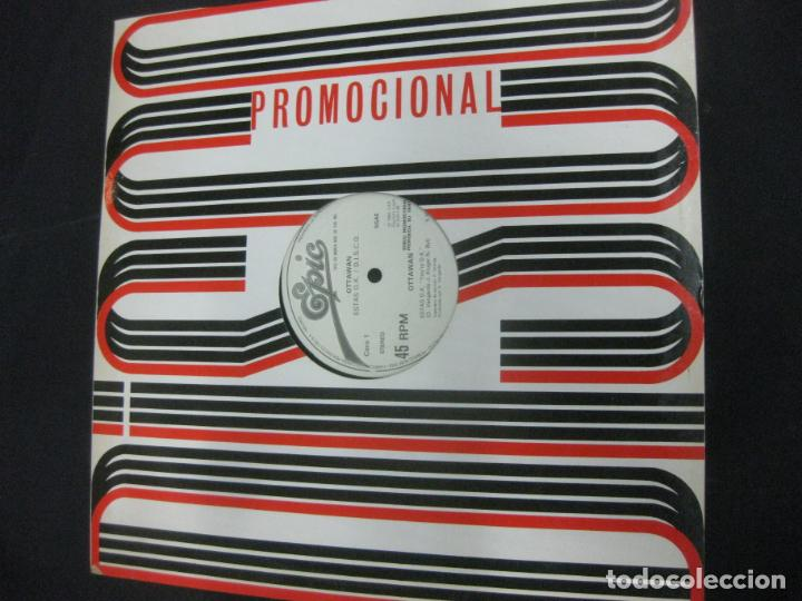 OTTAWAN. ESTAS O.K. / D.I.S.C.O..MAXI SINGLE PROMO EPIC. SPAIN. (Música - Discos de Vinilo - Maxi Singles - Funk, Soul y Black Music)