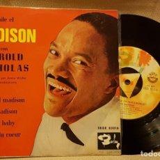 Discos de vinilo: BAILE EL MADISON CON HAROLD MICHOLAS. Lote 217726008