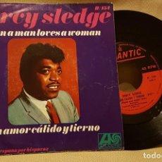 Discos de vinilo: PERCY SLEDGE - UN AMOR CALIDO Y TIERNO. Lote 217728782