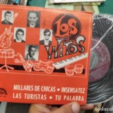 Discos de vinilo: EP LOS WITOS MILLARES DE CHICAS + 3 EX/EX COMO NUEVO. Lote 217728826