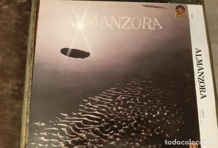 ALMANZORA - TWBY 1981 ( LOS PUNTOS ) COMPLETA 1ª ORG EDT SPAIN + ENCARTE, TODO IMPECABLE !! (Música - Discos - LP Vinilo - Grupos Españoles de los 70 y 80)