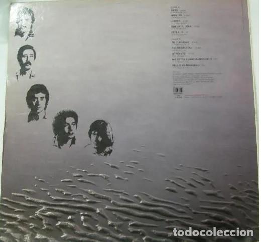 Discos de vinilo: Almanzora - twby 1981 ( los puntos ) COMPLETA 1ª org edt spain + encarte, todo impecable !! - Foto 3 - 217734081