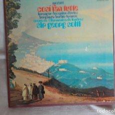 Discos de vinilo: COSI FAN TUTTE MOZART CAJA CON 4 LP'S. Lote 217741898