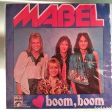 Discos de vinilo: MABEL - BOOM BOOM - EUROVISION 1978 DINAMARCA. Lote 217750655