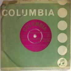 Discos de vinilo: SLIM DUSTY & HIS BUSHLANDERS. THE ANSWER TO A PUB WITH NO BEER/ WINTER WINDS COLUMBIA AUSTRALIA 1858. Lote 217751356