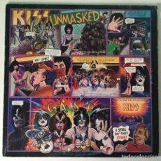 Discos de vinilo: KISS – UNMASKED, US 1980 CASABLANCA. Lote 1261674
