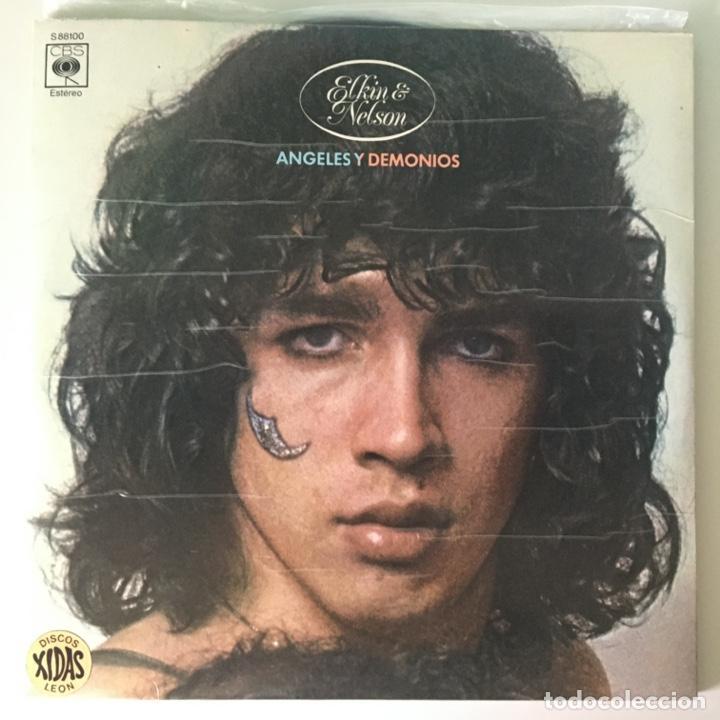 ELKIN & NELSON – ANGELES Y DEMONIOS, 2 LPS SPAIN 1974 CBS (Música - Discos - LP Vinilo - Grupos y Solistas de latinoamérica)