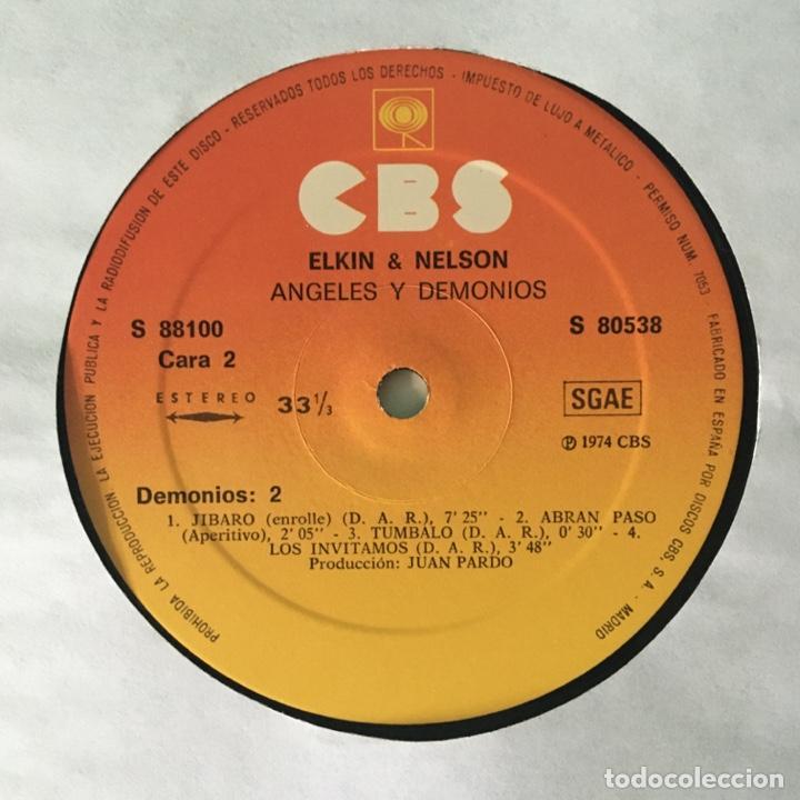 Discos de vinilo: Elkin & Nelson – Angeles Y Demonios, 2 LPs Spain 1974 CBS - Foto 4 - 217755841