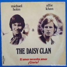Discos de vinilo: SINGLE / THE DAISY CLAN – EL AMOR NECESITA AMOR / ¡GLORIA!, BELTER – 07-821, 1970. Lote 217757630