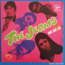 Discos de vinilo: SINGLE / THE JERMS – NOBODY / BABY, BABY, LOVE, EXIT RECORDS – 2541-B, 1969. Lote 217758366