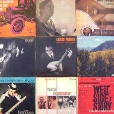 Discos de vinilo: LOTE 9 LP(INTÉRPRETES PORTUGUESES Y OTROS, CARLOS PAREDES, RAO KYAO, JOSE NUNES, CONCHITA BADIA, ETC. Lote 212022941