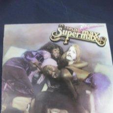 Discos de vinilo: SUPERMAX FLY WHIT ME. LP HISPAVOX 1979. ROCK ELECTRONICO.. Lote 217762815
