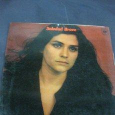 Discos de vinilo: SOLEDAD BRAVO. LA VIDA NO VALE NADA. LP CBS 1976.. Lote 217763230