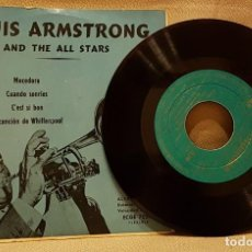 Discos de vinilo: LOUIS ARMSTRONG - AND THE ALL STARS. Lote 217763417