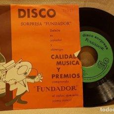 Discos de vinilo: DISCO SORPRESA FUNDADOR - ROCK Y TUWIST. Lote 217764722